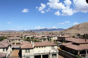 Lennar Olympic Ridge deck view Las Vegas