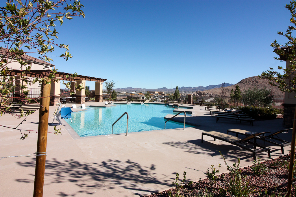Community pool at the Cove at Southern Highlands