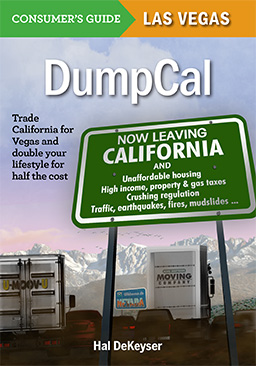 DumpCal book cover, Trade California for Vegas and double your lifestyle for half the cost